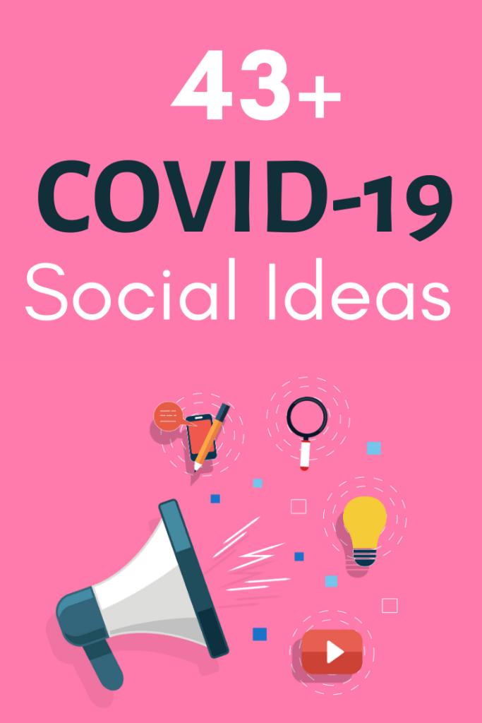 social isolation ideas covid19