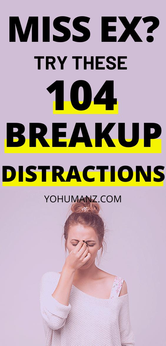 breakup things to do