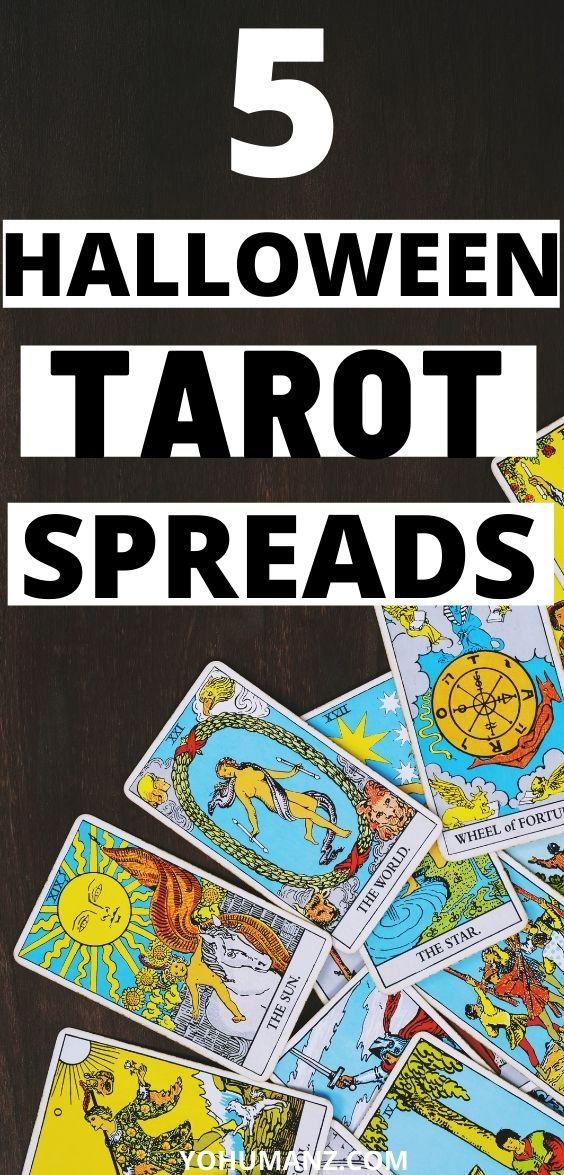 Halloween Tarot Spread
