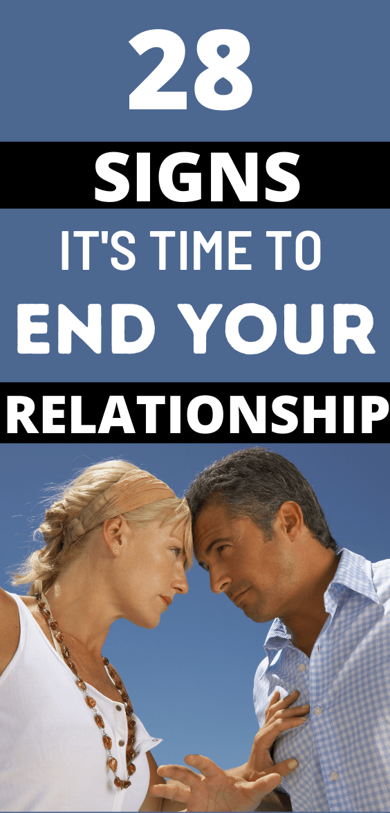 Signs You Should End the Relationship