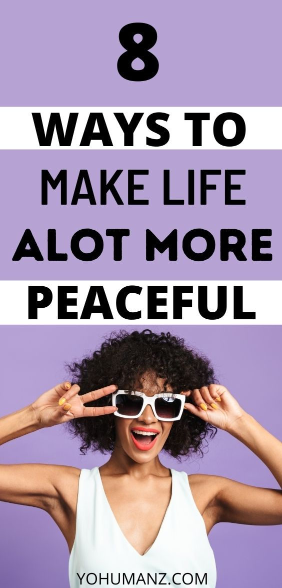 how to have peace in life