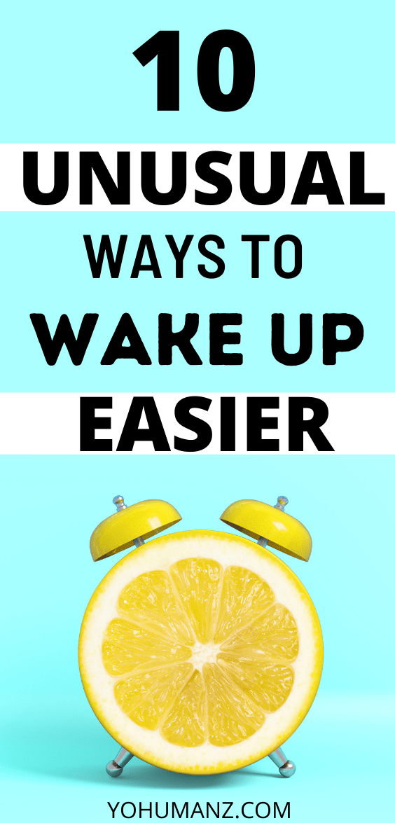 how to wake up easie