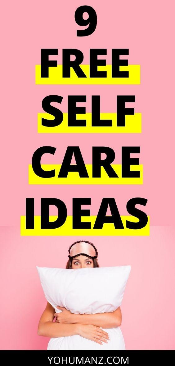 free self care ideas