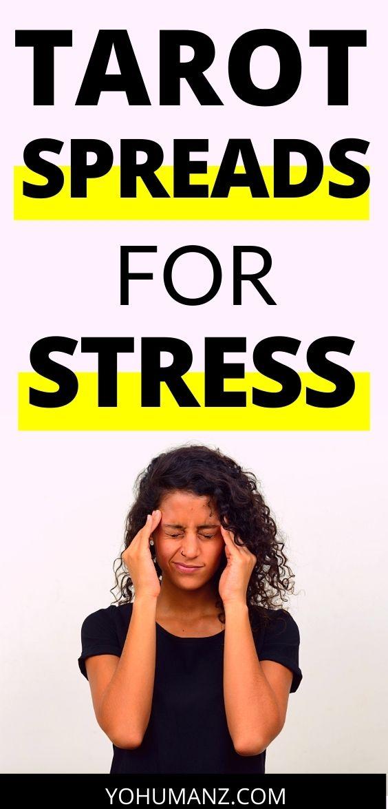 tarot spreads stress