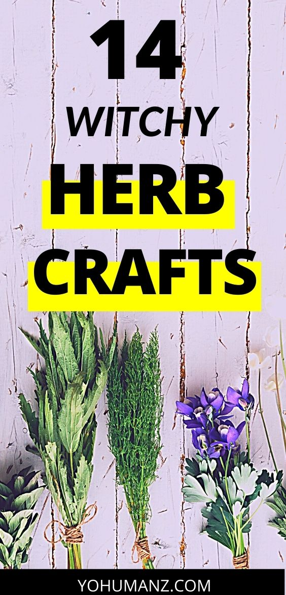 Herb Crafts for Adults