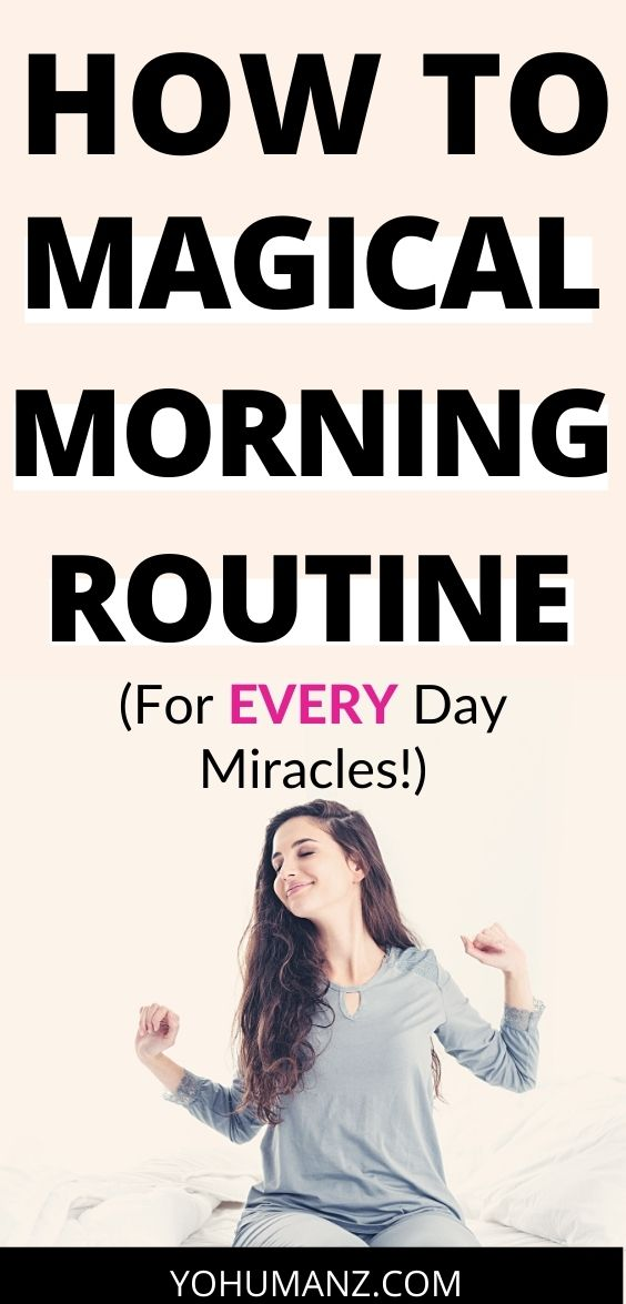 magical morning routine ideas activities