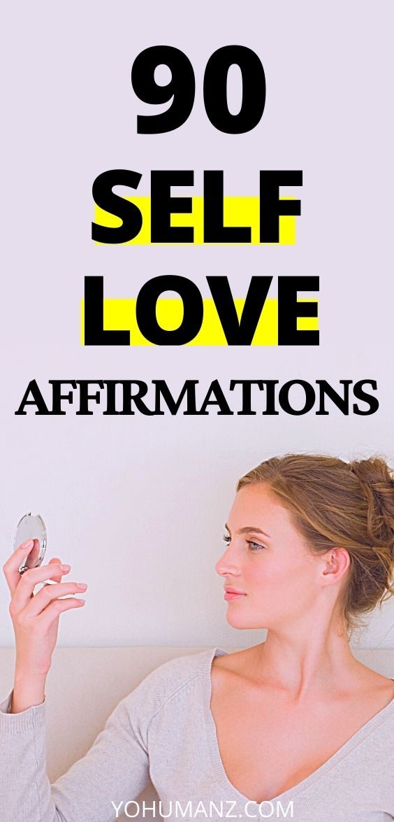 affirmations of self love